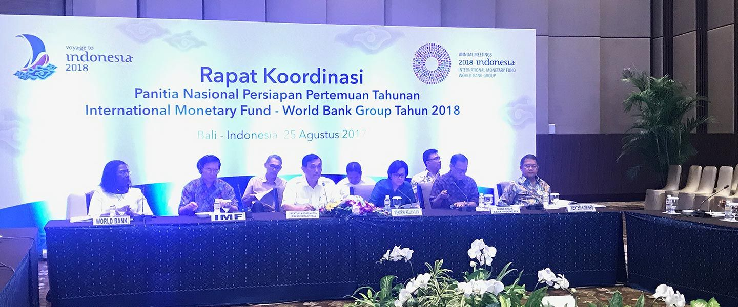 Indonesia Jadi Tuan Rumah IMF-WBG Annual Meetings 2018: Voyage to Indonesia
