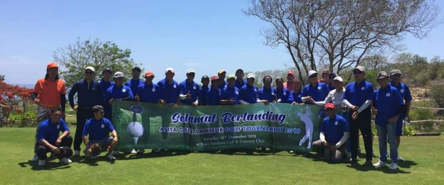 HUT Asita ke-49,  Optimalkan Sport Tourism Dengan Open Amateur Golf Tournament