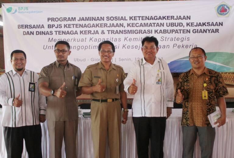 BPJS Ketenagakerjaan Gandeng Kaling dan Kadus untuk Perluasan Kepesertaan