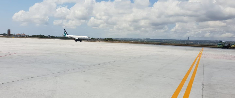 IMF-WBG AM 2018, Perluasan Apron Bandar Udara I Gusti Ngurah Rai Sudah Lebih 96%