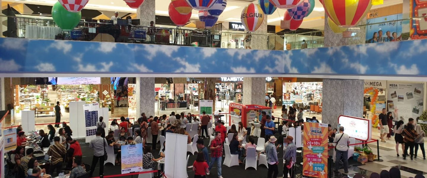 Bank Mega dan Antavaya Gelar  Mega Travel Fair  di  Trans Studio Mall Denpasar