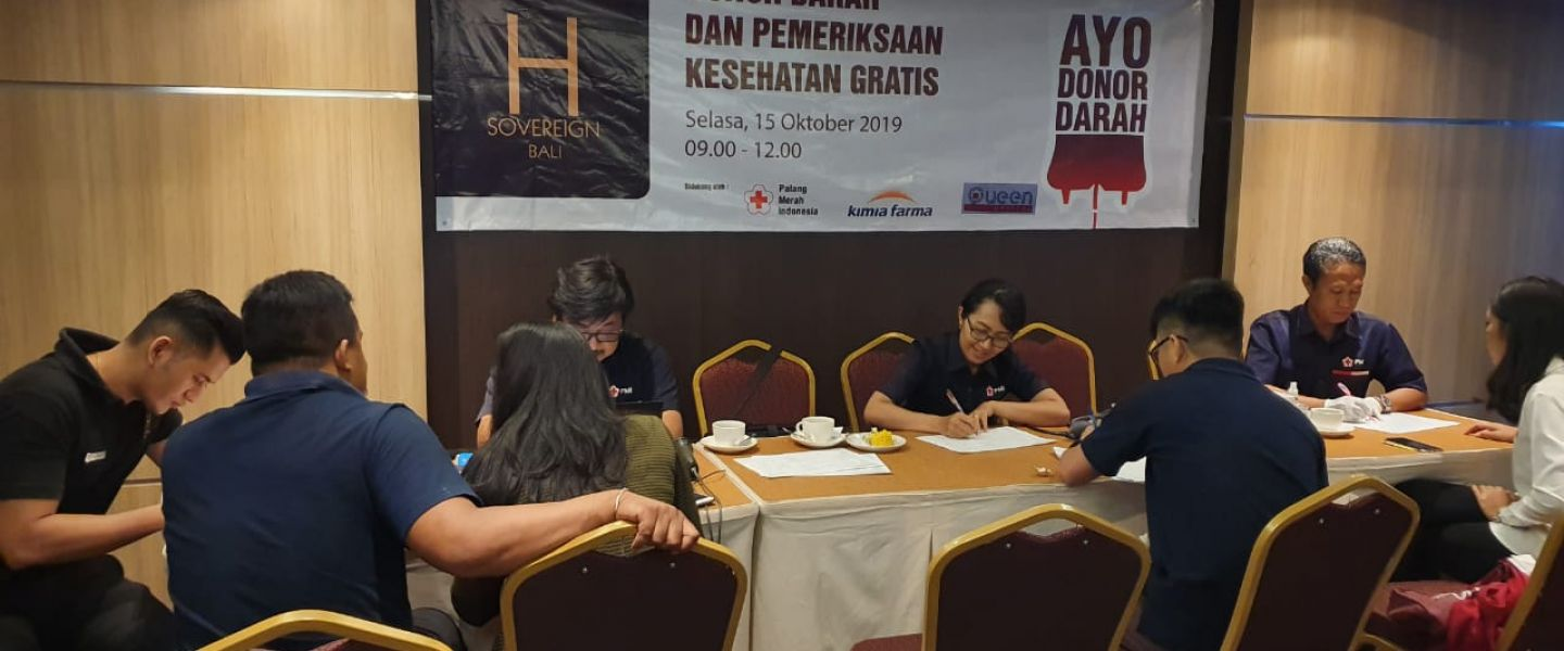 HUT ke-5 H Sovereign Hotel Gelar Aksi Kemanusian