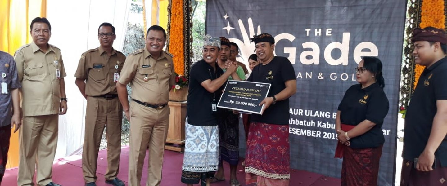 Tanggulangi Sampah, The Gade Clean and Gold Bank Daur Ulang Bedulu Diluncurkan