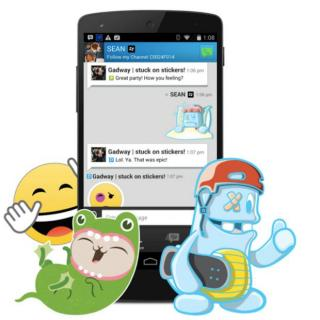 BlackBerry Messenger Bakal Jualan Sticker