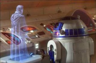 360 3-D Holographic Displays