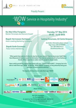 WOW Service in Hospitality Industry