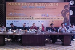 Love, Peace, dan Harmony Tema Nusa Dua Fiesta 2014
