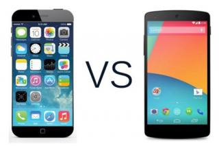Perbandingan iPhone 6 & Google Nexus 5