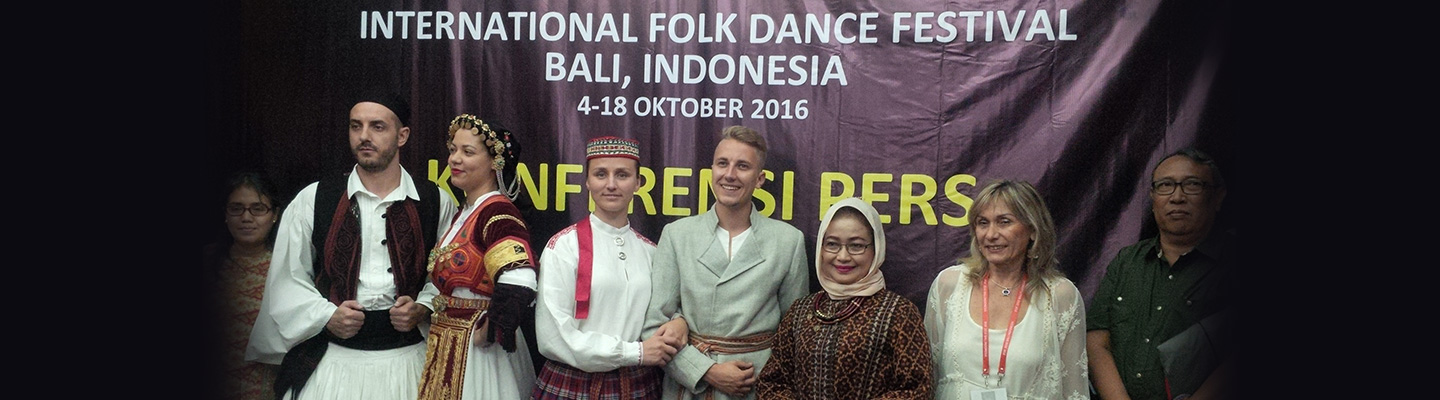 Dukung WCF, Indonesia Gelar International Folk Dance Festival di Bali