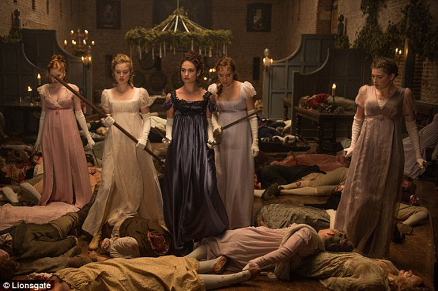 Sinopsis Pride and Prejudice and Zombies