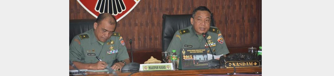 Kodam IX/Udayana Koordinasi Pengamanan Pacific Armies Chiefs Conference dan Pacific Armies Management