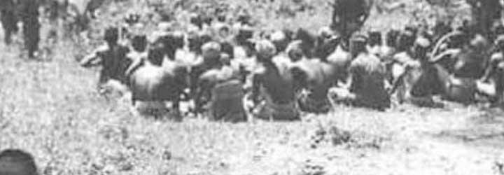 1947 - Pembantaian Rawagede: sebanyak 431 penduduk sipil Kampung Rawagede di Karawang