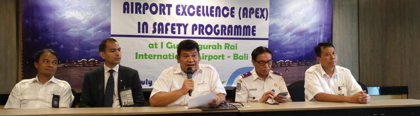 Gandeng ACI Bandara Ngurah Rai Incar Predikat Airport Excellence in Safety