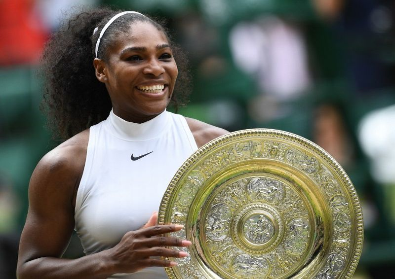 Serena Williams Juara Wimbledon 2016