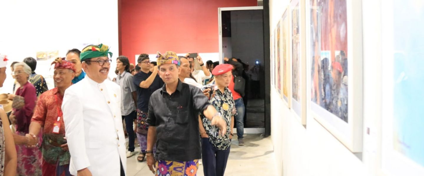 Apresiasi Digelarnya Pameran International Watercolor Society Tahun 2019