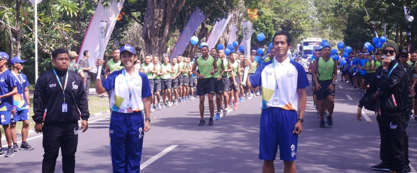 POCARI SWEAT Semarakan Gaung Torch Relay Asian Games 2018 di 7 Kota