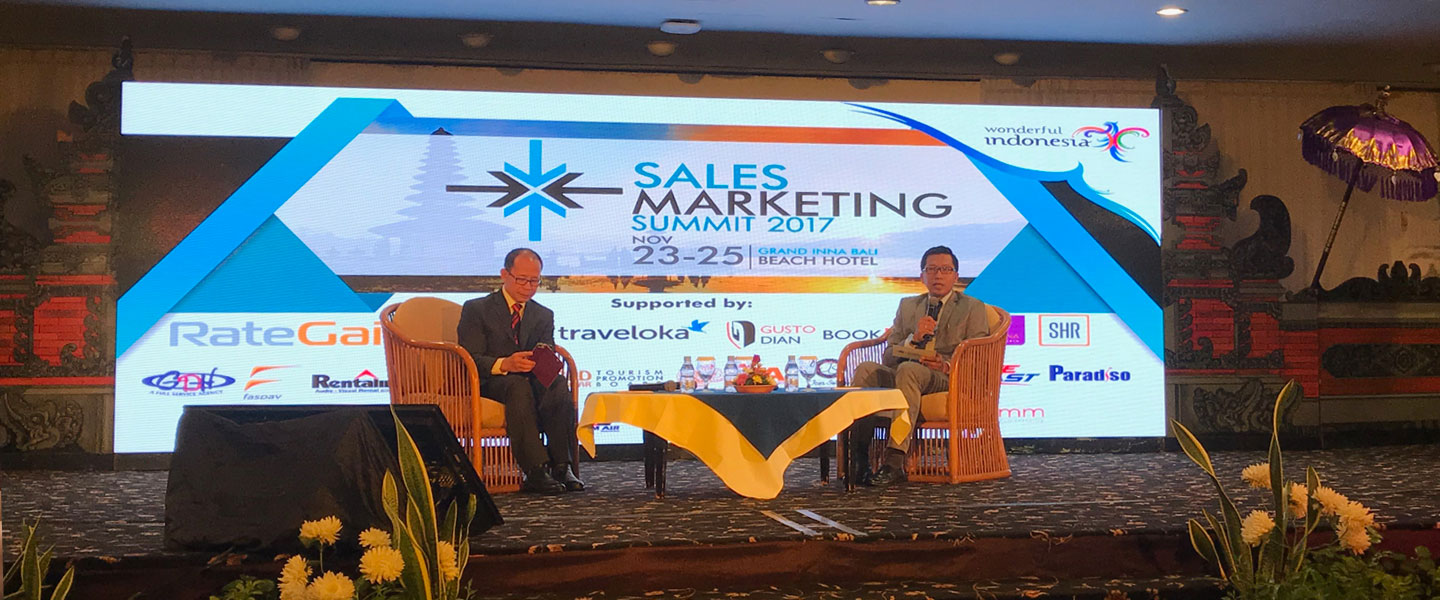 Sales and Marketing Summit 2017 , Bascomm Diminta Kembangkan Inovasi  Pasar Pariwisata